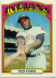 1972 Topps Baseball Cards      024      Ted Ford